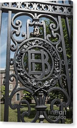Gates Of Brown University Providence Rhode Island Canvas Print
