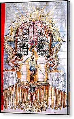 Gates Of Self-knowledge Canvas Print by Paulo Zerbato