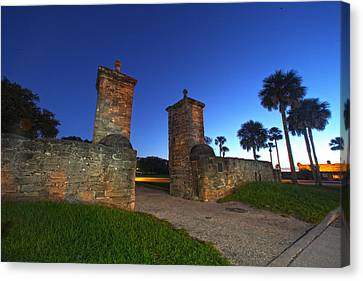 Gates Of The City Canvas Print by Robert Och