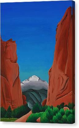 Gateway Horizon Canvas Print