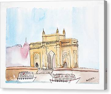 Gateway Of India Canvas Print by Keshava Shukla