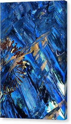 Gateway To Chaos 2 Canvas Print by Lori Kingston