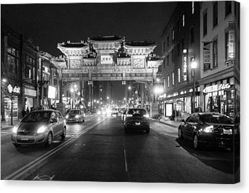 Gateway To Chinatown Canvas Print
