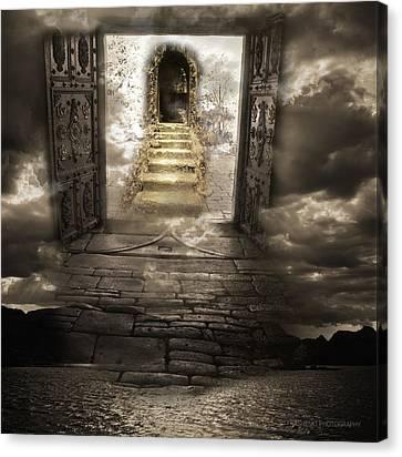 Gateway To Heaven Canvas Print by Andy Frasheski