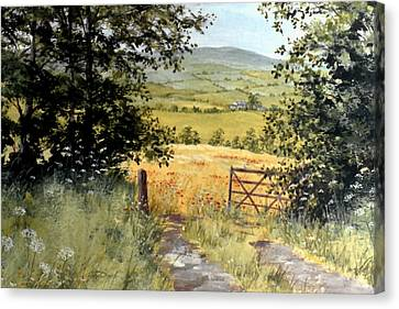 Gateway To The Vale Canvas Print by Stuart Parnell