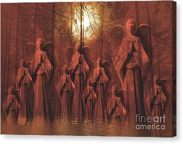 Gathering Of Angels Canvas Print