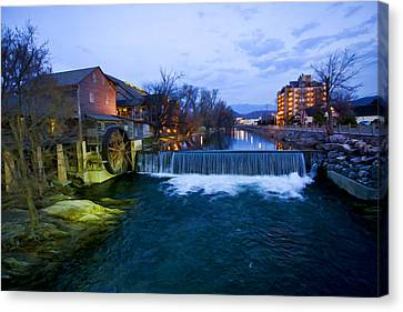 Gatlinburg Mill Canvas Print by Paul Bartoszek