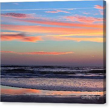 Gator Sunrise 10.31.15 Canvas Print