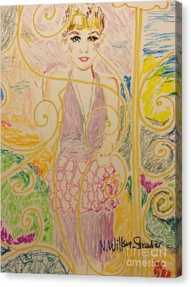 Gatsby Style Canvas Print by N Willson-Strader
