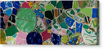 Gaudi Canvas Print by Peter Verdnik