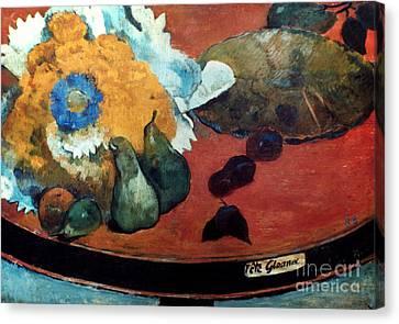 Gauguin: Fete Gloanec, 1888 Canvas Print by Granger