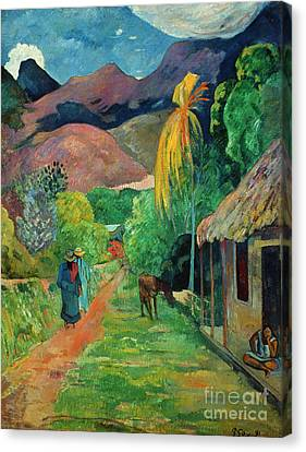 Gauguin Tahiti 19th Century Canvas Print by Granger