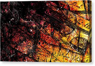 Gavotte In E Major Canvas Print by Gary Bodnar