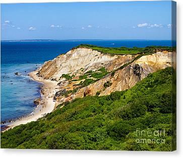 Gay Head Cliffs Canvas Print by Mark Miller