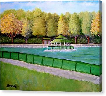 Gazebo Canvas Print