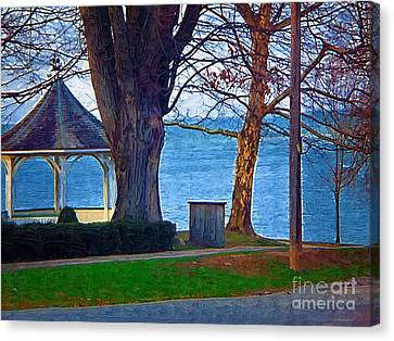 Gazebo Niagara On The Lake Canvas Print