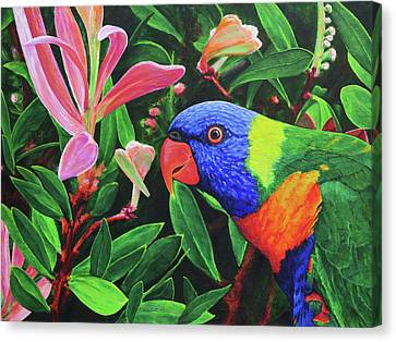 G'day, Mate Canvas Print by Julie Turner