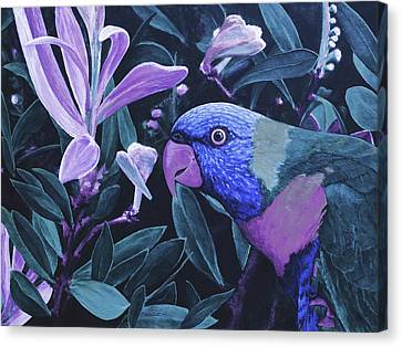 G'day Mate - Midnight Canvas Print by Julie Turner