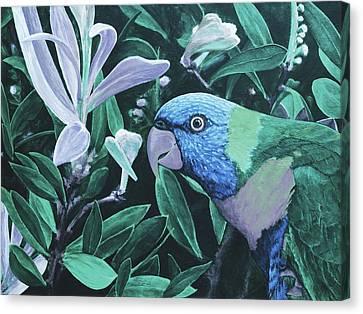 G'day Mate - Ocean Canvas Print by Julie Turner