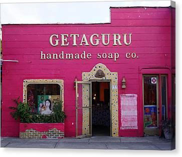 Geaguru Soap Canvas Print by Laurie Perry