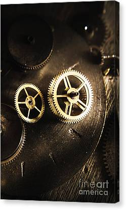 Gears Of Automation Canvas Print