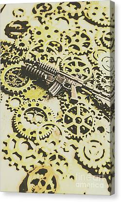 Tactical Canvas Print - Gears Of War by Jorgo Photography - Wall Art Gallery