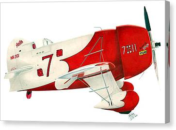 Gee Bee Canvas Print by Lyle Brown