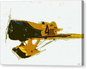 Gee Bee Model Z Canvas Print by David Lee Thompson