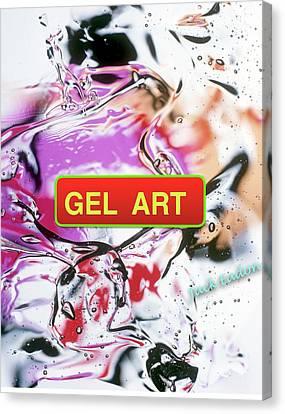 Gel Art #1 Canvas Print by Jack Eadon