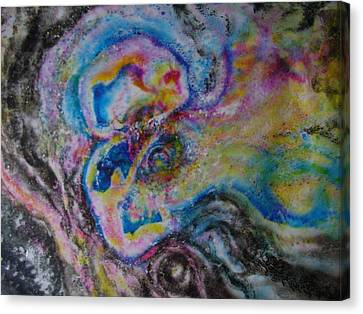 Gemini Canvas Print by Chua Jeen Tee