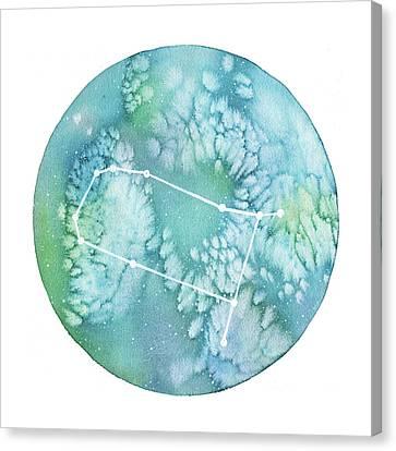 Gemini Canvas Print by Stephie Jones