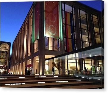 Gems Of Lincoln Center 2 Canvas Print by Carolyn Quinn