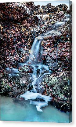 Port Town Canvas Print - Gemstone Falls by Az Jackson
