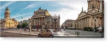 Gendarmenmarkt Platz / Berlin Canvas Print