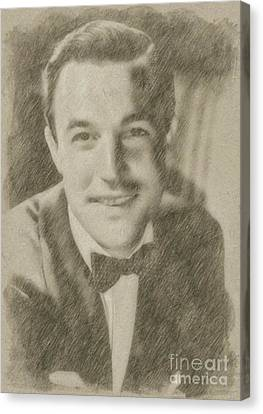 Noir Canvas Print - Gene Kelly, Actor And Dancer by Frank Falcon