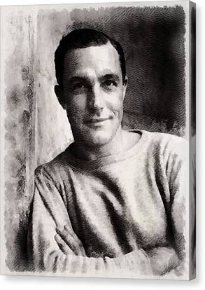 Gene Kelly, Actor And Dancer Canvas Print by John Springfield