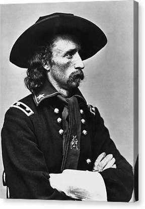 General Custer - Civil War Canvas Print by War Is Hell Store