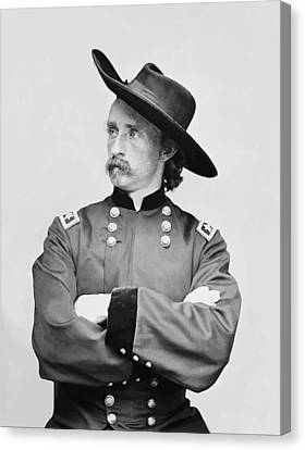 General Custer Canvas Print by War Is Hell Store