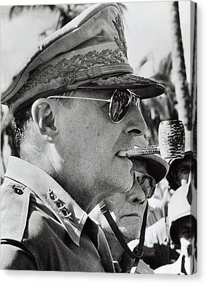 General Douglas Macarthur, 1944 Canvas Print