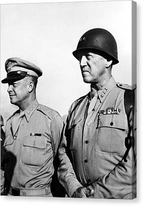 General Dwight Eisenhower, General Canvas Print by Everett