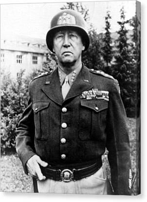 General George Patton, 1940s Canvas Print by Everett