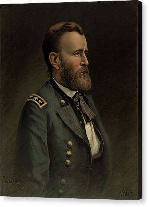 General Grant - American Civil War Canvas Print by War Is Hell Store