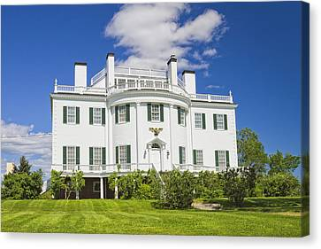 General Henry Knox Estate Thomaston Maine Photo Canvas Print by Keith Webber Jr