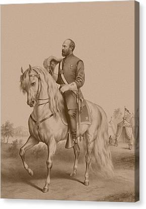 Warishellstore Canvas Print - General James Garfield by War Is Hell Store