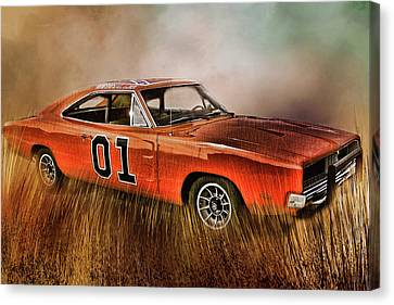 General Lee Canvas Print