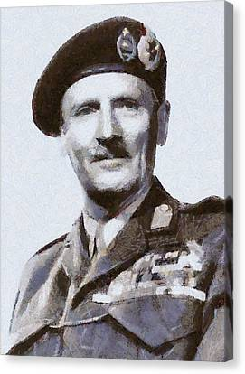 General Montgomery Canvas Print by Esoterica Art Agency
