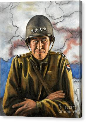 General Omar Bradley Canvas Print by Richard Barone
