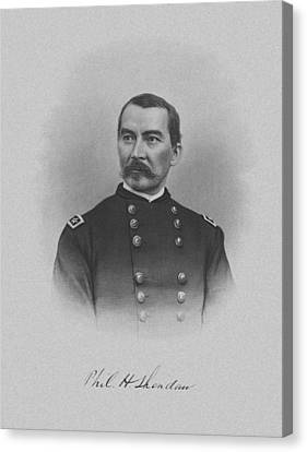 General Philip Sheridan Canvas Print by War Is Hell Store