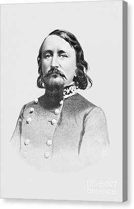 Paul Faust Canvas Print - General Pickett - Csa by Paul W Faust -  Impressions of Light