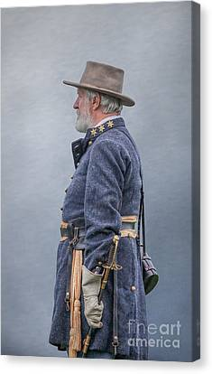 General Robert E Lee  Canvas Print by Randy Steele